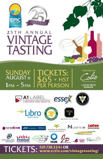 EPIC 25th Annual Vintage Tasting