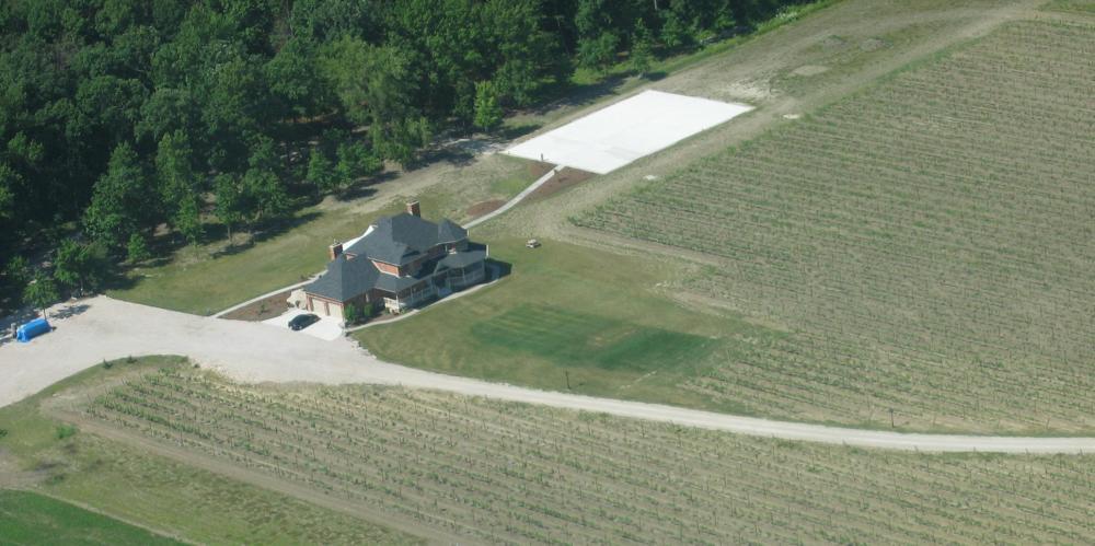 Muscedere Vineyards Aerial 2007