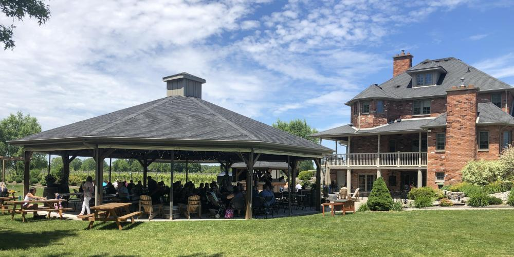Muscedere Winery Patio June 2019